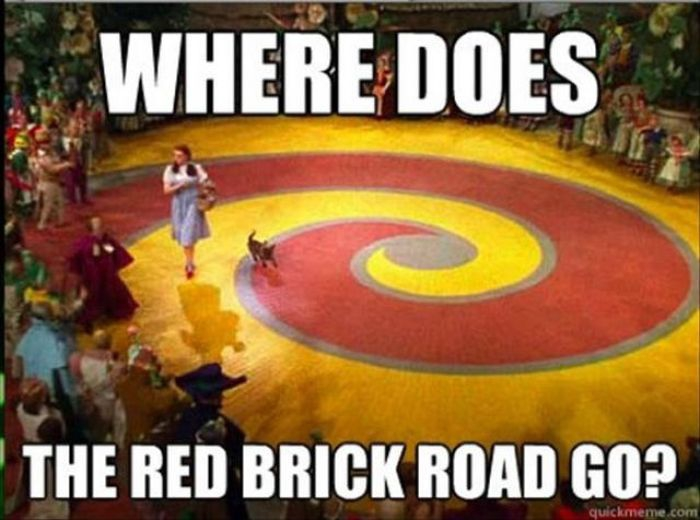 What About the Red Brick Road