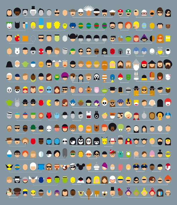 Pop Culture Design By Grégoire Guillemin