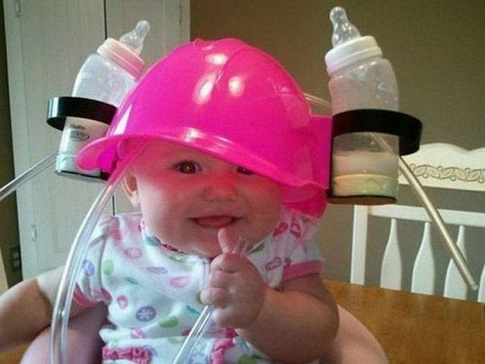 Baby Bottle Hat