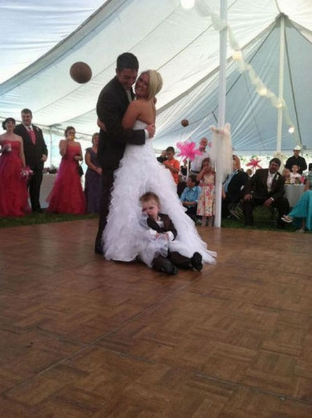 Fun At A Wedding