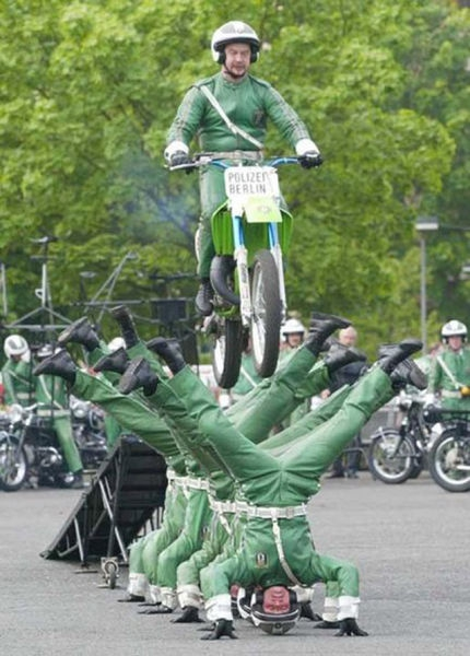 Berlin Motorcycle Jump
