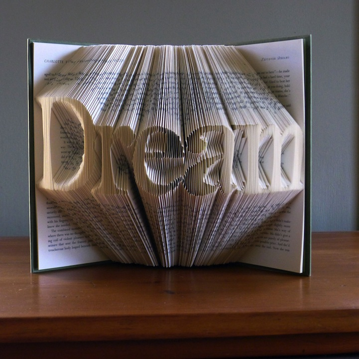 Stunning Book Page Art