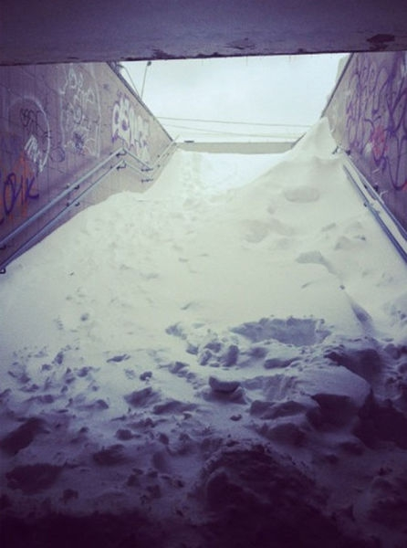 Snow in the Tunnels