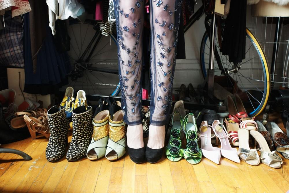 Shoes galore