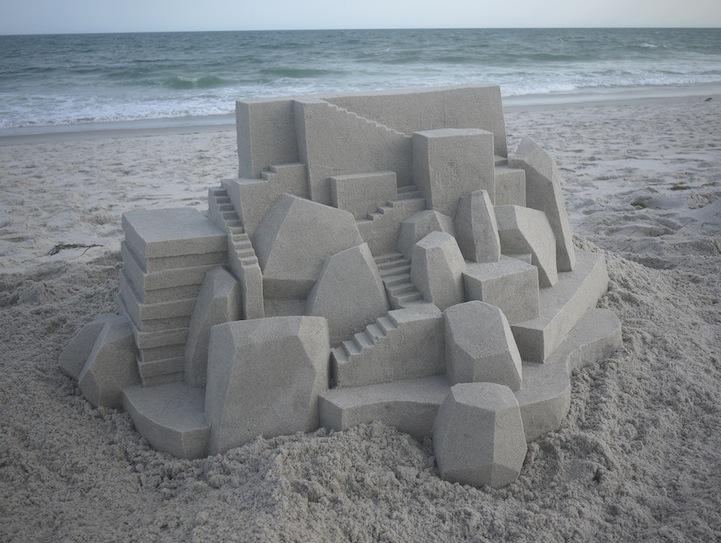 Beach sand Creation