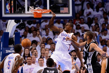San Antonio Spurs vs. Oklahoma City Thunder