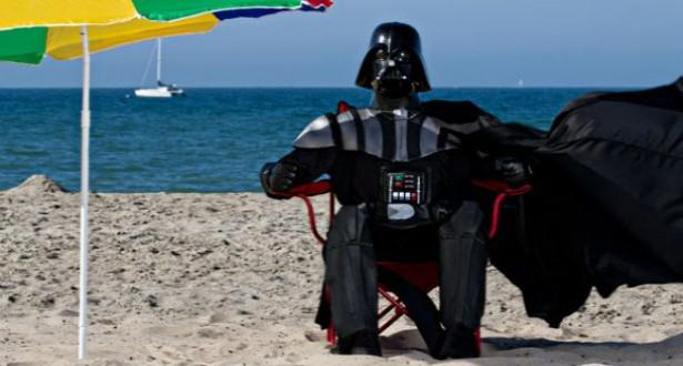 Vader Hits The Beach