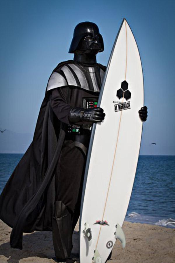 Vacation Darth Vader