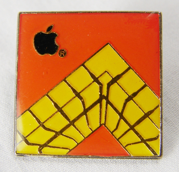 1990s Engineering Department Internal Apple Employee Pin, $149.99