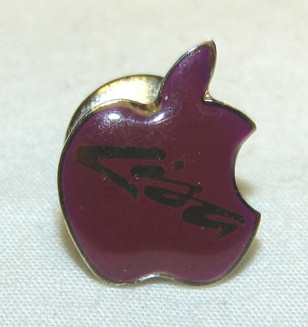 "1983 Vintage Apple Computer ""Lisa"" Pin, $399.99"