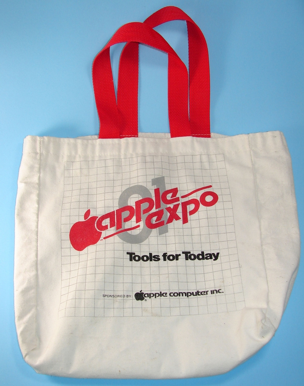 """Apple Expo 81"" Tote, $34.99"