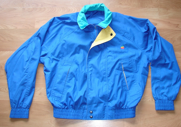 Early '90s Vintage Apple Computer Light Jacket, $69.99