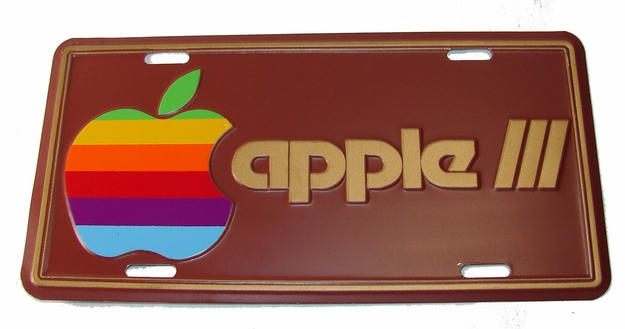 Vintage 1980 APPLE III License Plate, $159.99