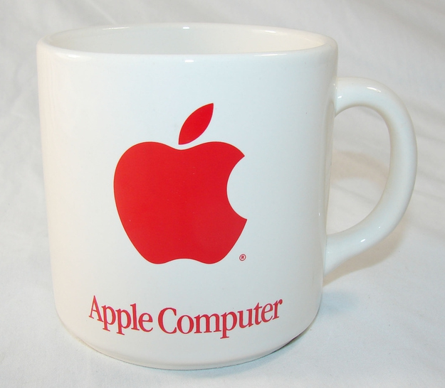 Vintage '80s Apple Computer Coffee Mug, $59.99