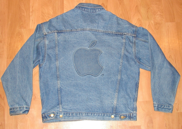 '80s Apple Employee Denim Jacket With Logo, $399.99