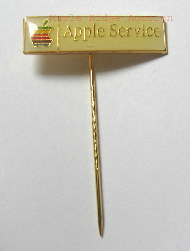 "1983 Apple Employee ""Apple Service"" Stick Pin, $159.99"