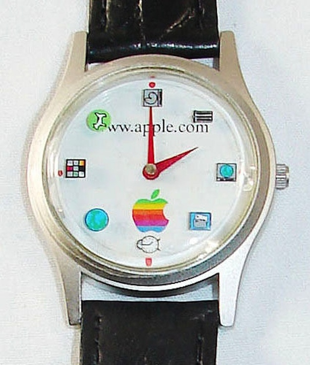 1997 Apple Watch With Rotating Icons, $399.99
