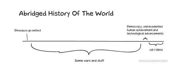 12. This is all you need to know about history.