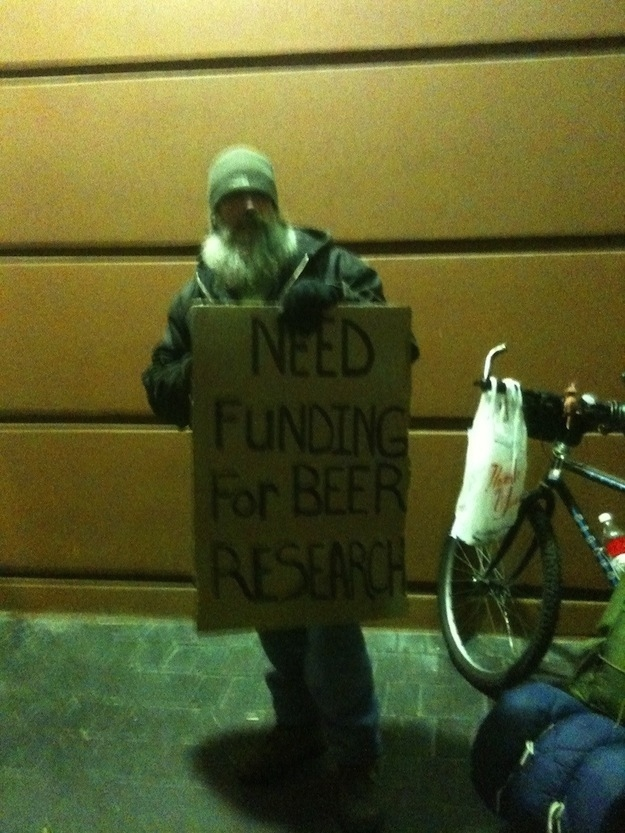 6. I hadn't heard that Beer Funding was so underfunded.