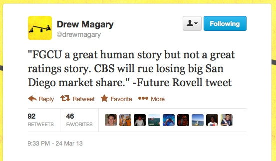 Future Rovell Tweet