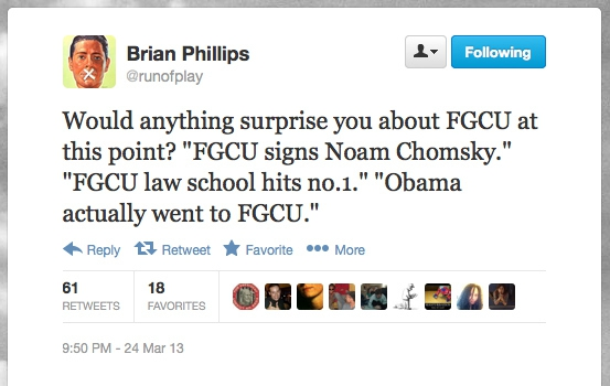 Obama Actually Went To FGCU