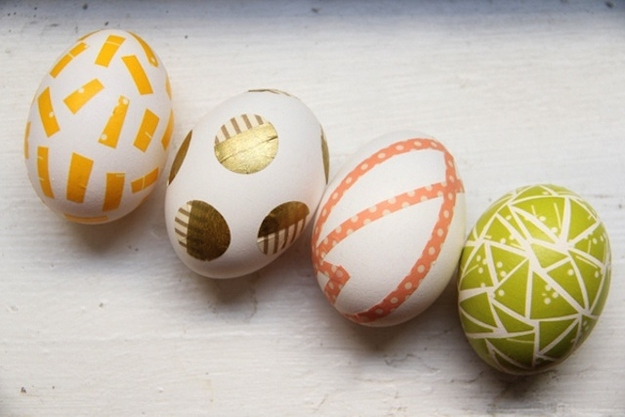 5. Washi Tape Easter Eggs