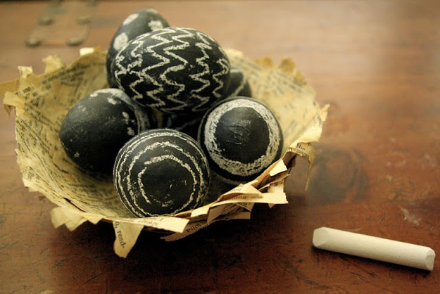 6. Chalkboard Easter Eggs