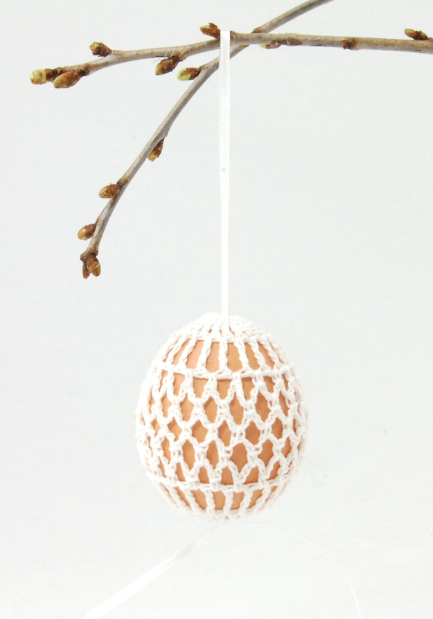 9. Crochet Easter Egg Holder