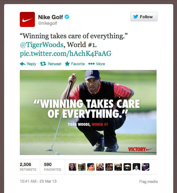 Winning Takes Care Of Everything