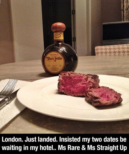 Steak And Tequila
