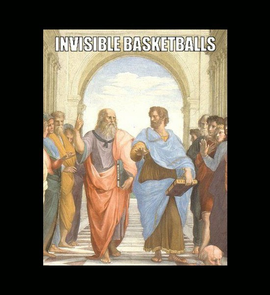 Invisible Basketballs