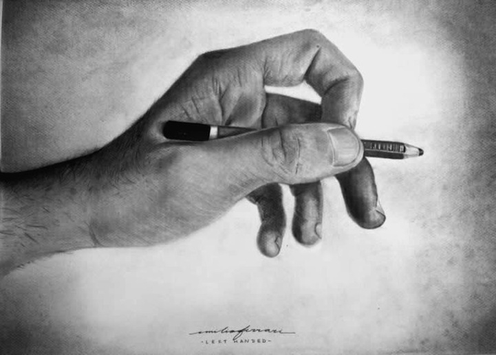charcoal drawing hand drawing