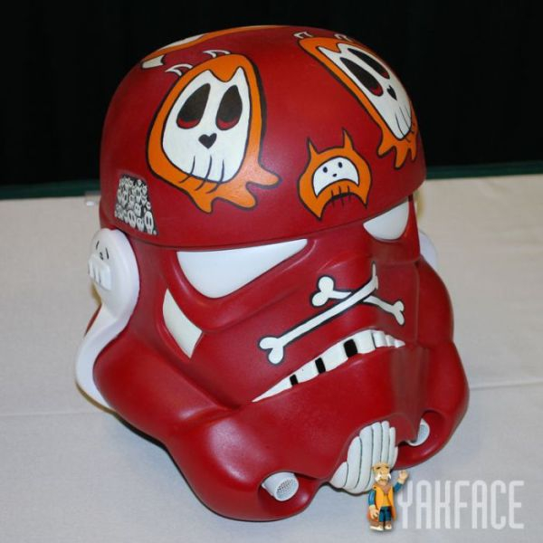 little skulls storm trooper helmet