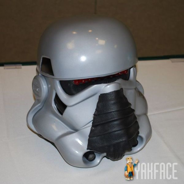 leather storm trooper helmet