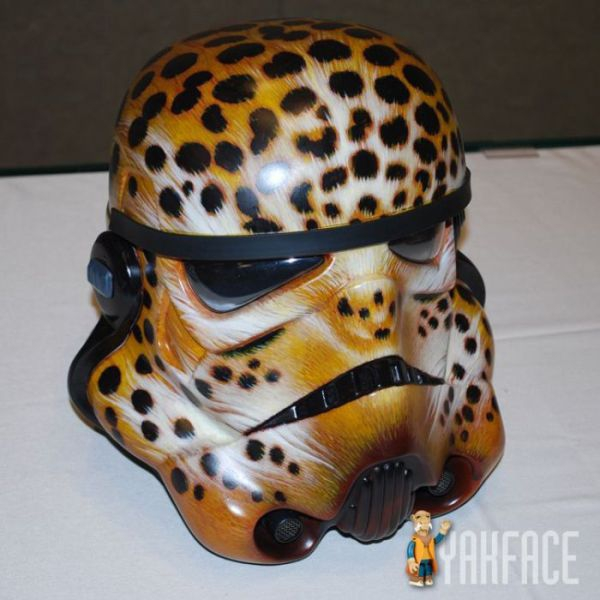 cheetah storm trooper helmet