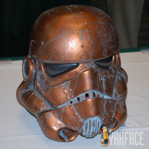 copper storm trooper helmet