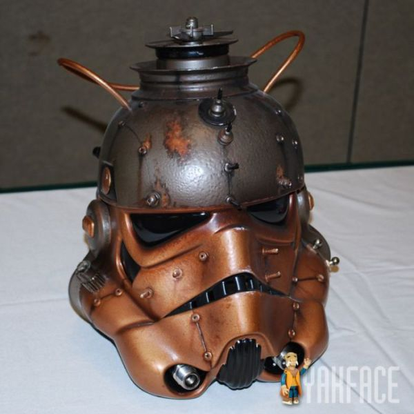 steam punk storm trooper helmet