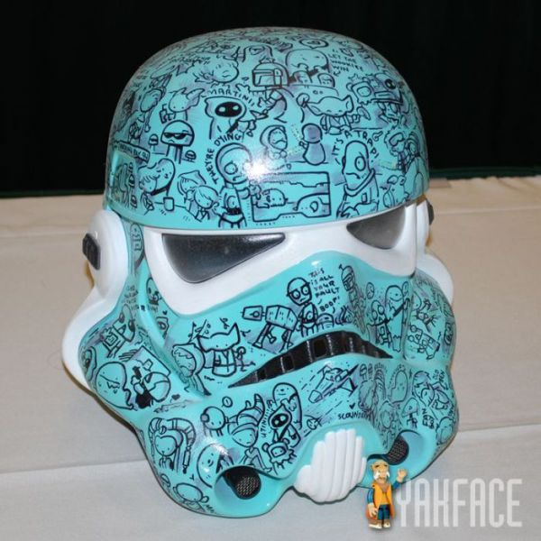 comic storm trooper helmet