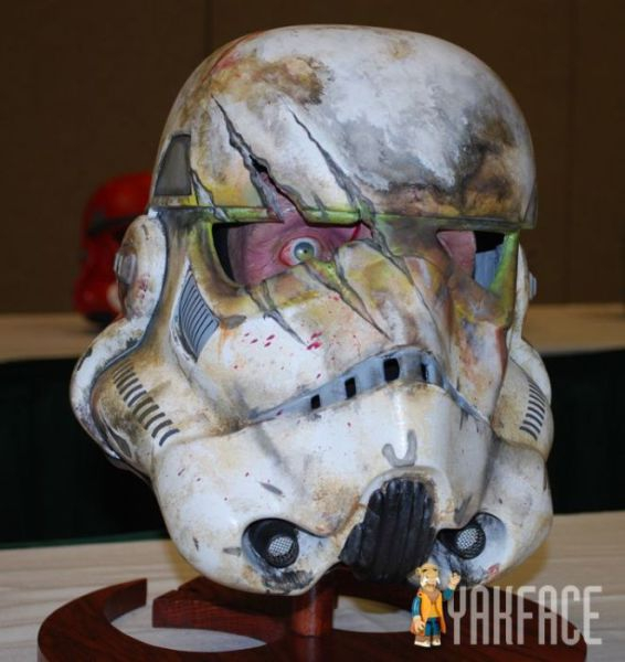 horror storm trooper helmet