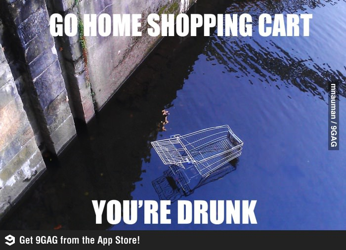 Drunk Shopping Cart