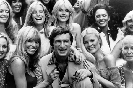 Young Hugh Hefner