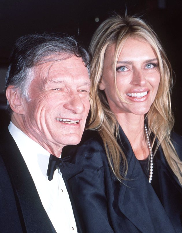 Hugh and his 2nd wife Kimberly Conrad