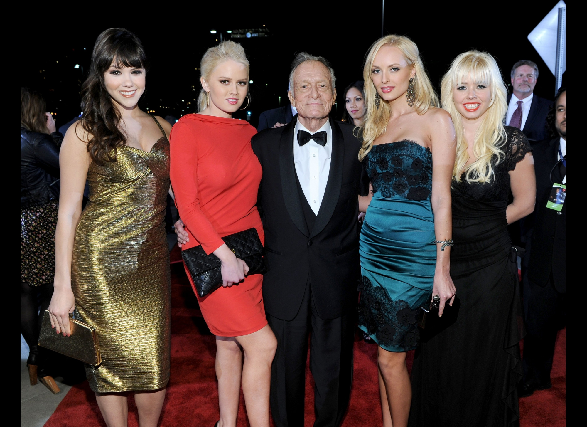 Hugh and his girls