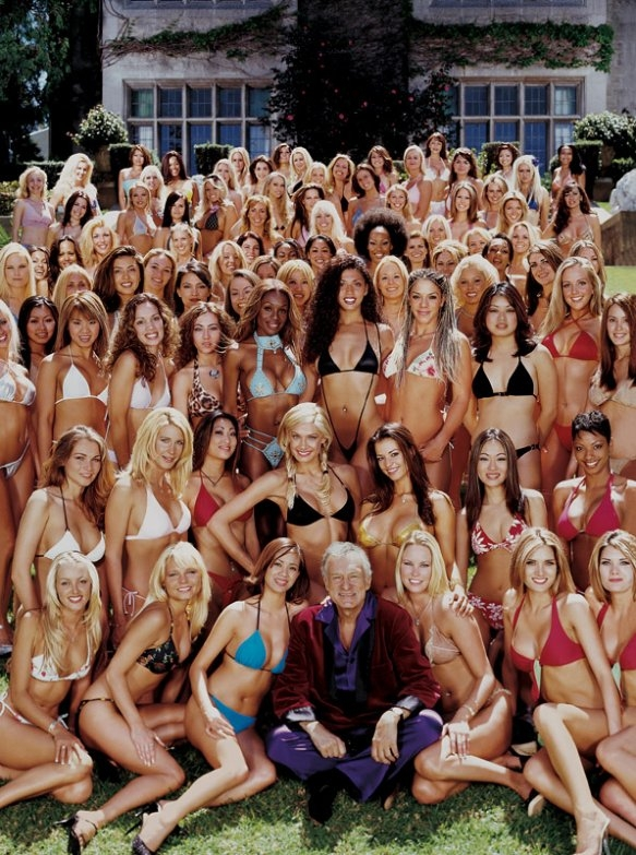 Playboy's Hugh Hefner