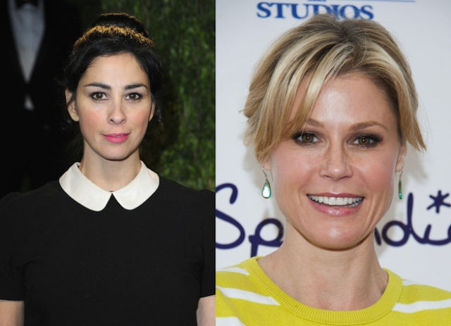 Sarah Silverman and Julie Bowen are both 42