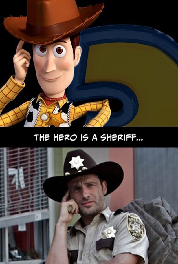 The Walking Dead Is Just Like The Movie Toy Story