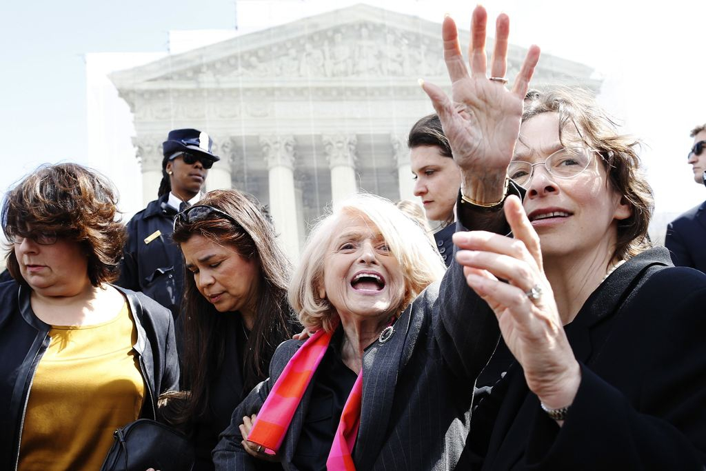 Edith Windsor Smiling