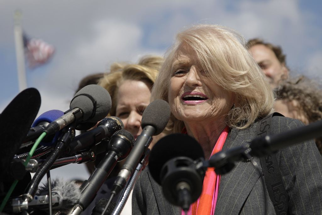 Edith Windsor after her day in court