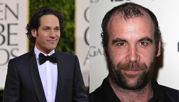 Paul Rudd and Rory McCann are both 43.