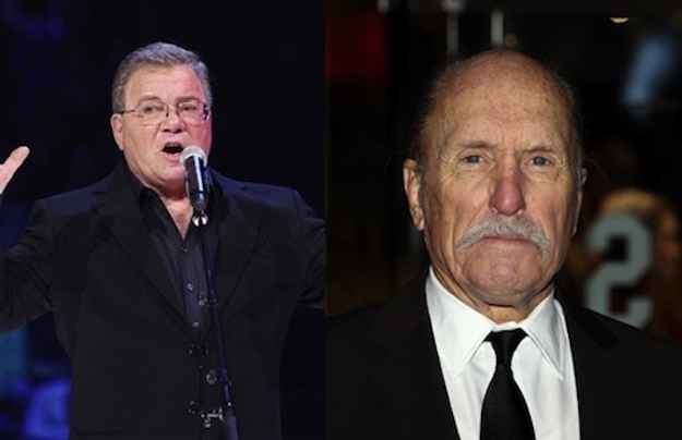 William Shatner and Robert Duvall are both 82.